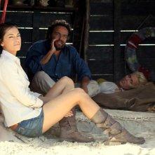 Sono un pirata, sono un signore: Giorgia Surina, Eduardo Tartaglia e Veronica Mazza sul set