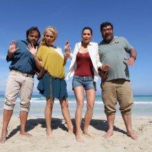 Sono un pirata, sono un signore: Giorgia Surina, Eduardo Tartaglia, Veronica Mazza e Francesco Pannofino in una foto promozionale