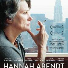 Hannah Arendt: la locandina tedesca del film