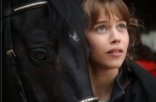 Jappeloup: Lou de Laâge in una scena del film francese