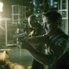 Welcome to the Punch: James McAvoy in una scena d'azione
