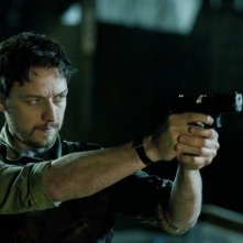 Welcome to the Punch: James McAvoy in una sequenza d'azione