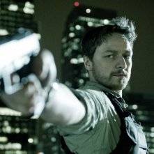 Welcome to the Punch: James McAvoy in una sequenza del film