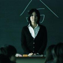 Confessions: Takako Matsu in classe in una scena