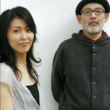 Confessions: Takako Matsu in una foto promozionale col regista Tetsuya Nakashima
