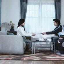 Confessions: Yoshino Kimura, Masaki Okada e Ai Hashimoto in una scena del film