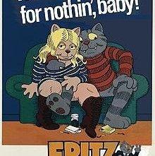 Fritz il gatto: la locandina del film
