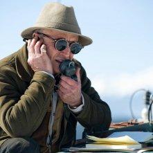 K2: la montagna degli italiani: Giuseppe Cederna in una scena della fiction