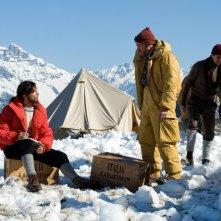K2: la montagna degli italiani: Marco Bocci e Massimo Poggio in una scena della fiction