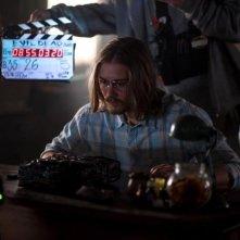 La casa: Lou Taylor Pucci sul set del remake del classico horror di Sam Raimi