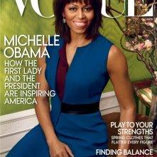 Michelle Obama in cover su Vogue USA (aprile 2013)