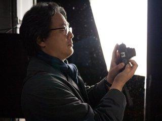 Stoker: il regista Park Chan-wook sul set del film