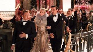 Il grande Gatsby: Leonardo DiCaprio con Carey Mulligan e Joel Edgerton in una scena