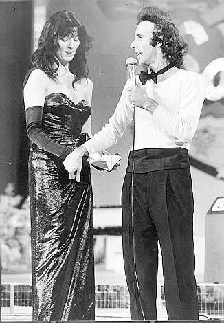 Sanremo 1980 Roberto Benigni Con Olimpia Carlisi 269248