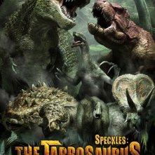 Spotty il dinosauro 3D: il poster internazionale