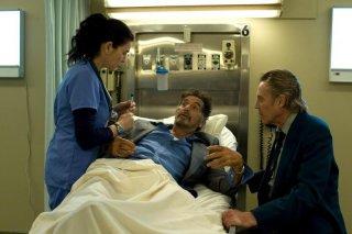 Stand Up Guys: Julianna Margulies con Al Pacino e Christopher Walken in una scena del film