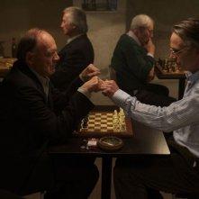 Treno di notte per Lisbona: Bruno Ganz e Jeremy Irons in una scena del film