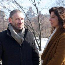 Una fragile armonia: Mark Ivanir e Catherine Keener in una scena del film