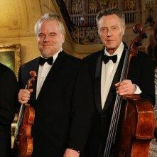 Una fragile armonia: Mark Ivanir, Philip Seymour Hoffman, Christopher Walken e Catherine Keener in una foto promozionale