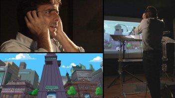 Phineas e Ferb: Adriano Giannini in sala di doppiaggio per l'episodio speciale del 19 Marzo 2013