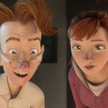 Epic: Bomba e Mary Katherine in una scena del colorato film animato diretto da Chris Wedge