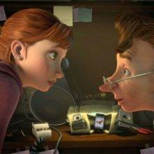 Epic: Bomba insieme a Mary Katherine in una scena del colorato film animato diretto da Chris Wedge