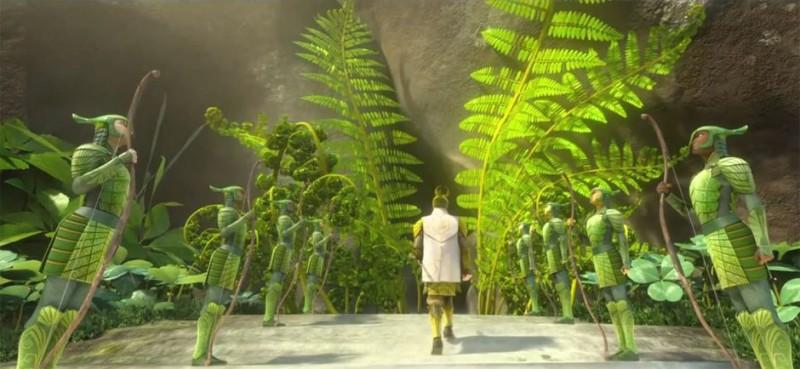 Epic Felci Gigantesche In Una Scena Del Coloratissimo Film Diretto Da Chris Wedge 269348
