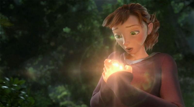Epic La Bella Mary Katherine Doppiata Da Amanda Seyfried In Una Scena Del Colorato Film Animato Dire 269349