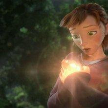 Epic: la bella Mary Katherine, doppiata da Amanda Seyfried, in una scena del colorato film animato diretto da Chris Wedge