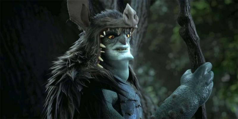 Epic Mandrake Il Personaggio Doppiato Da Chris Waltz In Una Scena Del Colorato Film Animato Di Chris 269355