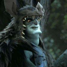 Epic: Mandrake, il personaggio doppiato da Chris Waltz, in una scena del colorato film animato di Chris Wedge