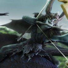 Epic: Mandrake in una scena del colorato film animato di Chris Wedge