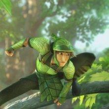 Epic: Nod in una scena del magico film animato di Chris Wedge