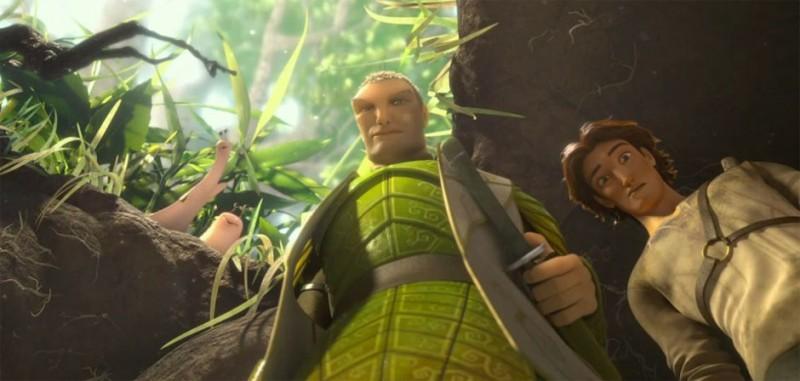 Epic Ronin E Nod In Una Scena Tratta Dal Colorato Film Animato Diretto Da Chris Wedge 269354