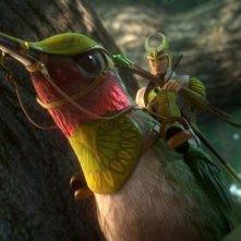 Epic: Ronin in una scena tratta dal colorato film animato diretto da Chris Wedge