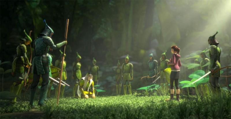 Epic Una Scena Di Gruppo Del Coloratissimo Film Diretto Da Chris Wedge 269356