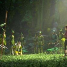 Epic: una scena di gruppo del coloratissimo film diretto da Chris Wedge