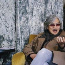 Il regista Im Sang-Soo nel corso di un'intervista al Florence Koreal Film Fest 2013
