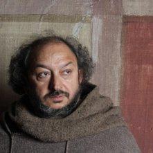 Orfeo Orlando sul set di Romeo e Giulietta, regia di Riccardo Donna
