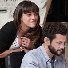 Passione sinistra: Vinicio Marchioni insieme a Valentina Lodovini in una scena