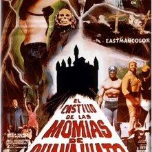Il castello delle mummie: la locandina del film