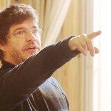Il ministro - L'esercizio dello Stato: il regista Pierre Schoeller sul set del film
