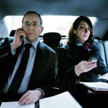 Il ministro - L'esercizio dello Stato: Olivier Gourmet e Zabou Breitman in una scena del film