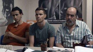 Sta per piovere:  Said Mahran, Lorenzo Baglioni e Hamid Mahran in una scena del film