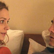 Viaggio sola: Fabrizia Sacchi insieme a GianMarco Tognazzi in una scena del film