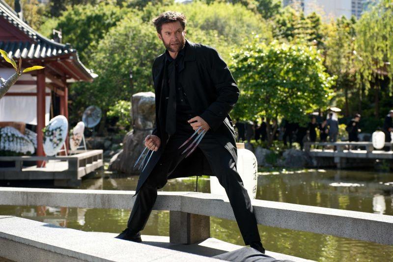 Wolverine: Hugh Jackman sfodera gli artigli in un pacifico giardino giapponese