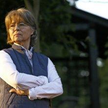 Cornelia Froboess è la severa nonna di Mika in Ostwind