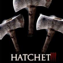 Hatchet 3: la locandina del film