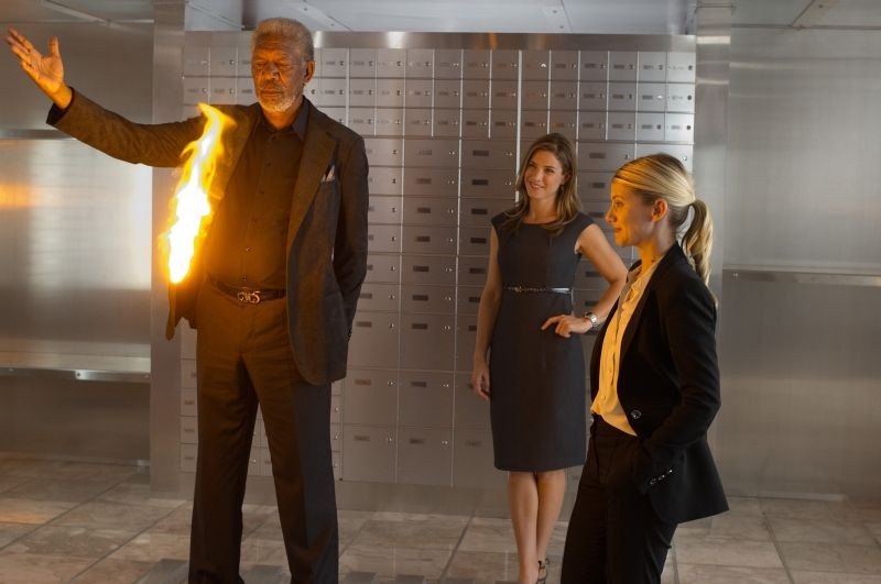 Now You See Me Morgan Freeman E Melanie Laurent In Una Scena 269599