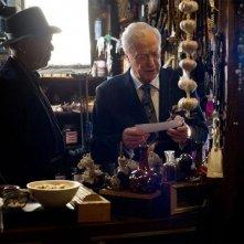 Now You See Me: Morgan Freeman e Michael Caine in una scena